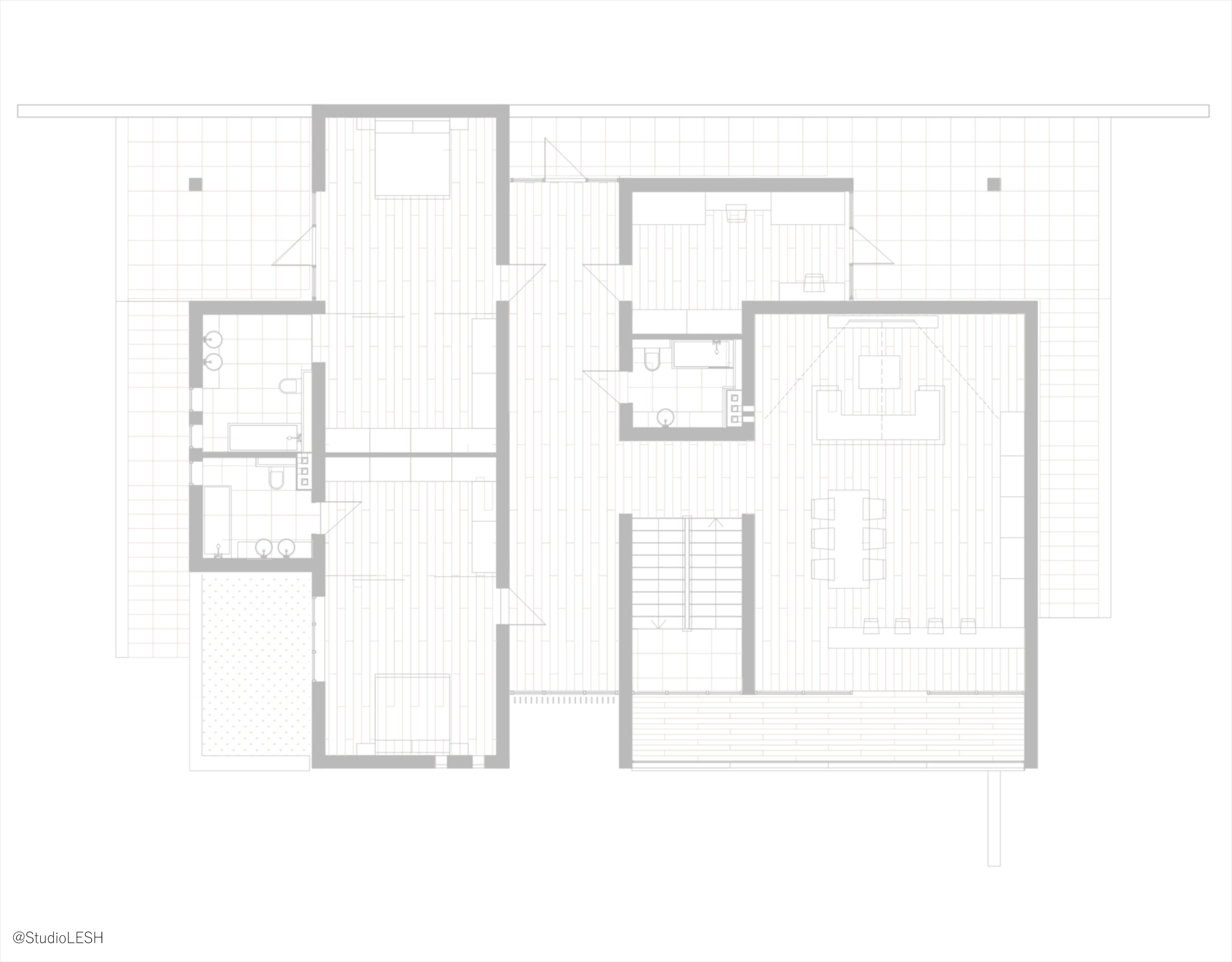Design scheme of the house