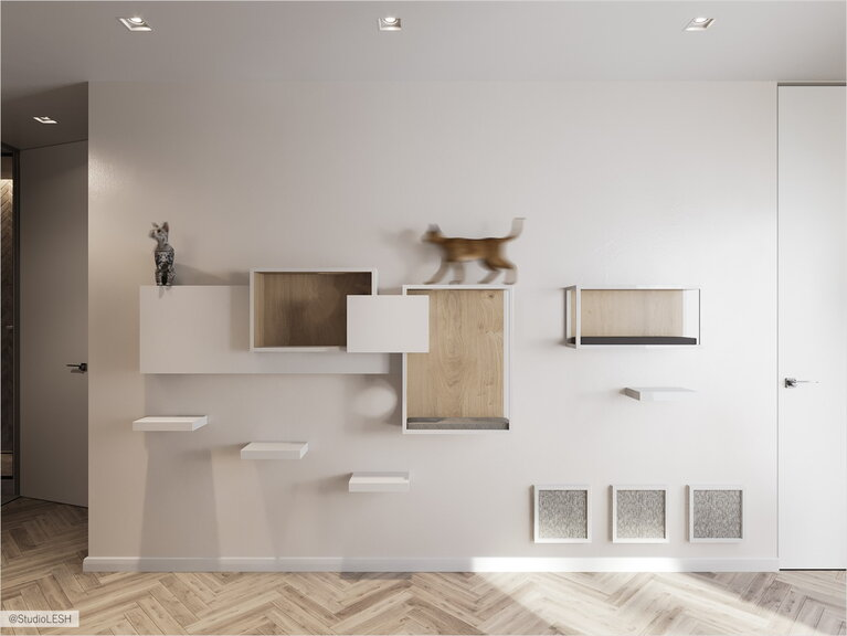 Shelf system for pets